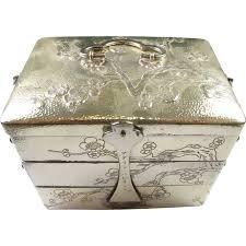 Pottery Barn Travel Jewelry Case Stylish Engraved Jewelry Box Engravable Silver Plated Jewelry