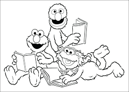 baby elmo coloring pages sesame street big bird goal keeper soccer
