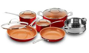 best black friday deals for cookware set 45 off on gotham copper cookware 10pc groupon goods