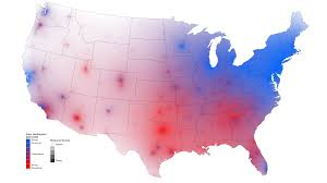 Political Map Us Does The Redstatebluestate Model Of Us Electoral Politics The