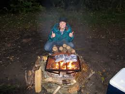 Cooking Over Fire Pit Grill - nestful of love cooking by campfire 101