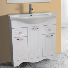 31 Bathroom Vanity by 31 Inch Floor Standing White Vanity Cabinet With Fitted Sink