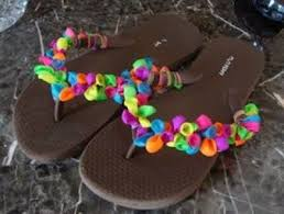 Decorate Flip Flops Great Project For Kids Decorate Flip Flops With Water Ballo