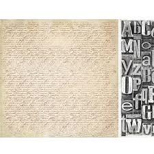 12x12 Scrapbook Stickytiger Timeless Script 12x12 Scrapbook Paper