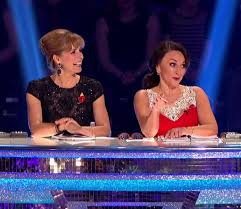 darcey bussell earrings strictly tess daly winkleman darcey bussell and shirley ballas