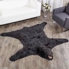 Black Bear Coffee Table Black Bear Skin Rugs Bear Skin Rug Sale At Bear Skin World