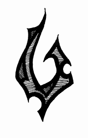 tribal fish hook 3 by iolair01 on deviantart