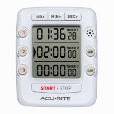 kitchen timer event digital kitchen timer with jumbo display acurite