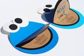 Design Your Own Invitations Cookie Monster Invitations Cloveranddot Com
