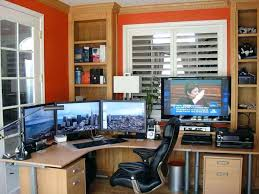 Desks Melbourne Home Office by Home Office Workstations Built In Desk With Dual Furniture Sets