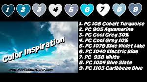 prismacolor color pallets inspirational backgrounds youtube