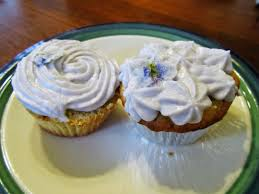 earl grey cupcakes with lavender frosting u0026 white chocolate