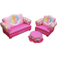 american greetings care bears rainbow toddler 3 piece sofa chair