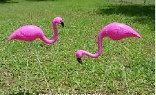 flamingo garden stakes ornaments ebay