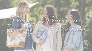 mary u0026 martha spring 2017 product youtube