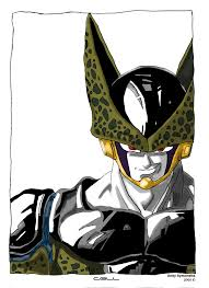 cell dbz drawing andy721 deviantart