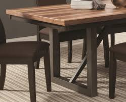 creek dining table 106581 by coaster w optional chairs