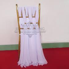 chiffon chair sash white chair sashes for weddings lace chiffon chair cover sashes