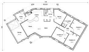 plan de maison en v plain pied 4 chambres plan de maison en v gratuit plain pied newsindo co plein scarr co