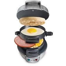 Sandwich Toaster Online Hamilton Beach Breakfast Sandwich Maker Model 25475w Walmart Com