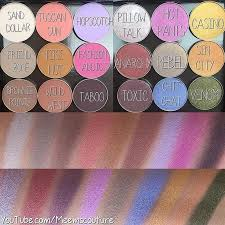 swatches makeupgeekcosmetics new eyeshadow summer2016 collection are here