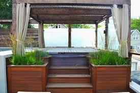 Pergolas And Decks by Photos Chicago Roof Deck Garden Hgtv