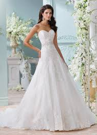 aline wedding dresses strapless sweetheart neckline lace a line wedding dress 116210 laina