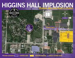 Illinois Road Conditions Map by Video Western Illinois University U0027s Higgins Hall Imploded Week