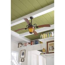 Allen Roth Ceiling Fan Remote by Shop Harbor Breeze Quimby 52 In Aged Bronze Downrod Mount Indoor