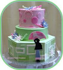 mod mom baby shower cake grace tari flickr