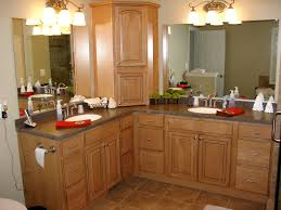 l shaped double vanity bathroom renovations pinterest double