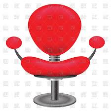 Clipart Armchair Red Ergonomic Office Armchair Vector Image 39590 U2013 Rfclipart