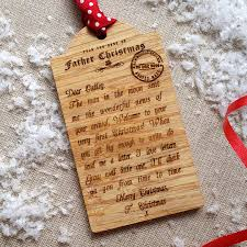 bespoke baby s wooden tag decoration wooden