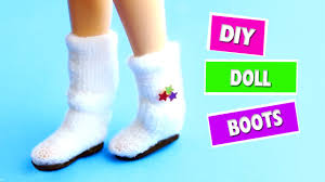 diy miniature doll boots easy doll crafts simplekidscrafts