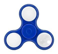 fidget spinner light up blue up fidget spinner blue