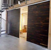Temporary Wall Ideas Basement by Diy Home Decor How To Make A Sliding Door For Under 40