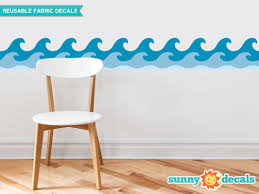 sunny decals wave border wall decal reviews wayfair default name