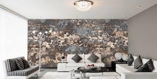Wohnzimmer Lounge Bar Designtapeten In Silber Grau Schwarz Weiß