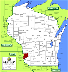 Door County Wisconsin Map by Town Of Eastman