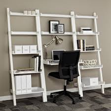 leaning bookshelf with desk remodel ideas 7737