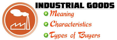 Types Meaning Industrial Goods Meaning Characteristics Types Of Buyers