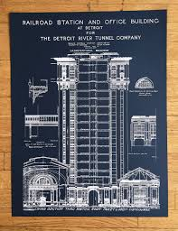 what size paper are blueprints printed on blueprint art print hand pulled silkscreen print detroit