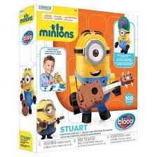 bloco toys minion stuart foam construction target