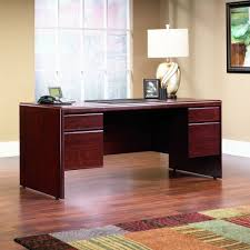 com sauder office furniture cornerstone collection classic cherry executive desk kitchen dining