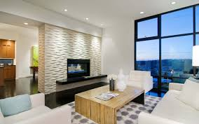 gallery of modern living room with fireplace unique in home design