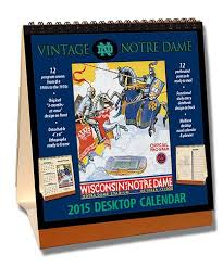 notre dame wrapping paper notre dame desk calendar notre dame fighting desk calendar
