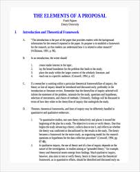 theoretical framework research paper research paper proposal form 7 free documents in pdf