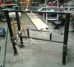 Steel Pipe Desk We Built Our Son An Industrial Style Desk Check Out How We Did