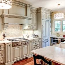 Traditional Kitchen Backsplash Original Ron And Martha Wolford Off White Traditional Kitchen