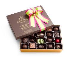 Halloween Chocolate Gifts Double Chocolate Raspberry Truffle Chocolate Flavors Godiva